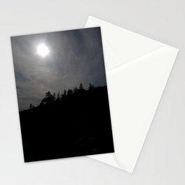 Treeline Silhouette Stationery Cards
