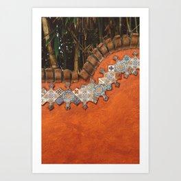 Mexican Tile Art Print