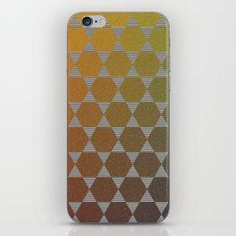 Lichtenberg-Mayer Colour Triangle vintage remake, based on Mayers' original idea and illustration iPhone Skin