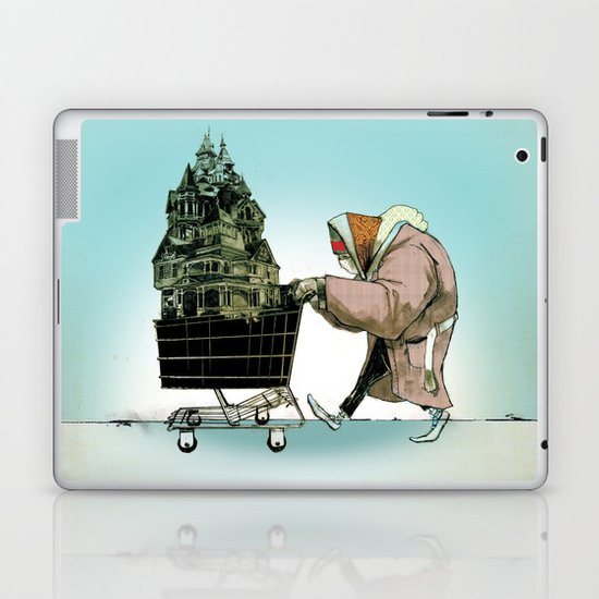 "Glue Network Print Series ""Homelessness"" Laptop & iPad Skin"