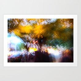 Digital Canvas Art Print
