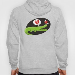 Alligator in Love Hoody