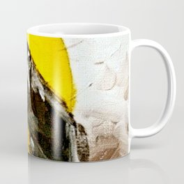 Crow Flying at Night Coffee Mug