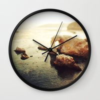 pirates Wall Clocks featuring Pirates Cove by Kevin Russ