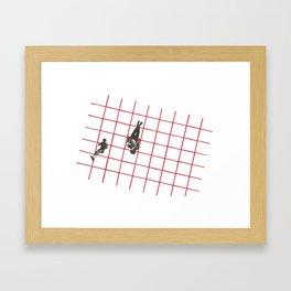 On the Grid Framed Art Print