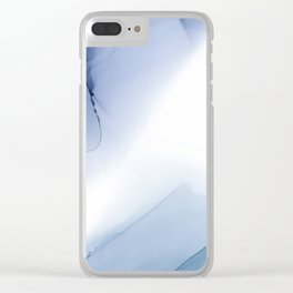 Ocean Ink 5 Clear iPhone Case