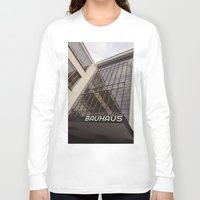 bauhaus Long Sleeve T-shirts featuring Bauhaus by Nat Alonso