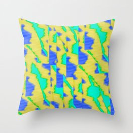 pattern funk colortheme 3 Throw Pillow