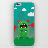 dragons iPhone & iPod Skins featuring Dragons! by SkippyZA
