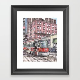 Spadina King Framed Art Print