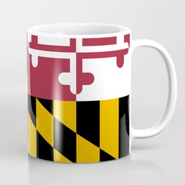 Maryland State Flag Coffee Mug