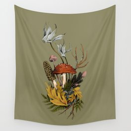 Autumnal Scene Wall Tapestry
