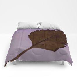 BE LIKE A LEAF #3 Comforters