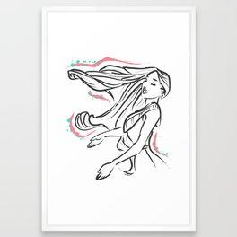 Do you still wait for me Dream Giver? Framed Art Print