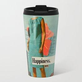 Happiness Here Travel Mug