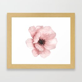 :D Flower Framed Art Print