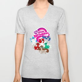 My Social Networks - My Little Pony Parody Unisex V-Neck