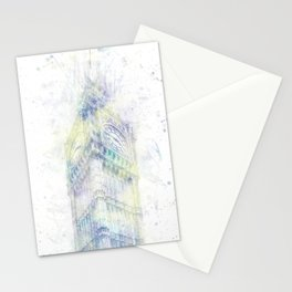 Modern Art BIG BEN | watercolor Stationery Cards