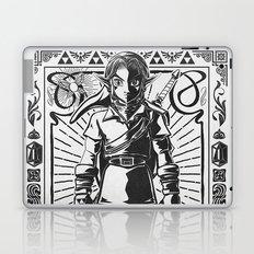 Legend of Zelda - Epic Link Vintage Geek Line Artly Laptop & iPad Skin