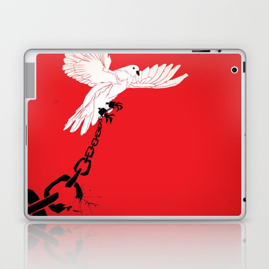 "Glue Network Print Series ""Justice & Freedom"" Laptop & iPad Skin"