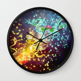Pkm Battle Wall Clock