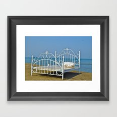Art at the Beach  Framed Art Print