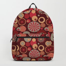 Circle Frenzy - Red Backpack