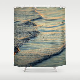 Touch of Gold Shower Curtain