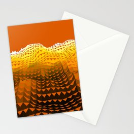 Dune Wave Stationery Cards