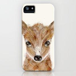little deer fawn iPhone Case