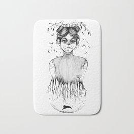 depression & anxiety Bath Mat
