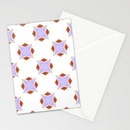 Diamond Orange Ruffy Stationery Cards