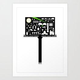 Mty NL Art Print