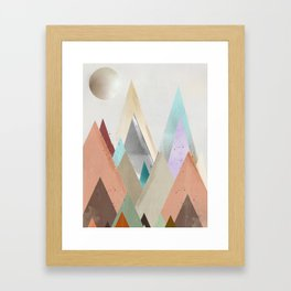 nova sky Framed Art Print