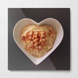 I love Hummus Metal Print
