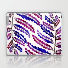 Fern Leaf – Indigo Palette Laptop & iPad Skin