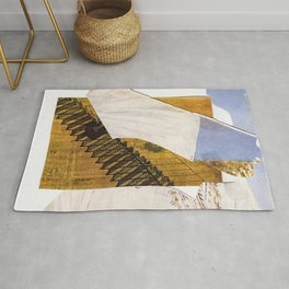stairs nowhere Rug