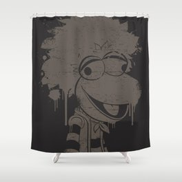 SPLATTER FRAGGLE Shower Curtain