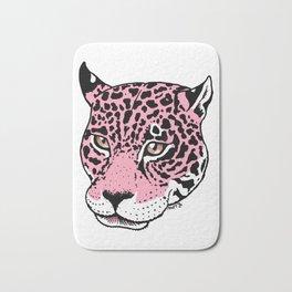 Pink Leopard Bath Mat