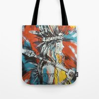 indian Tote Bags featuring Indian by ketizoloto