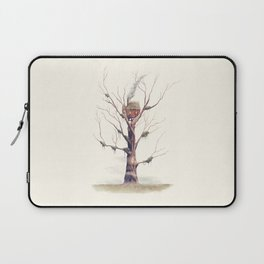 The Swamp Witch's Treehouse Laptop Sleeve