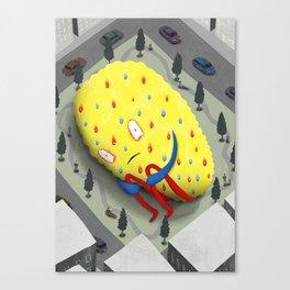 Urban Anxiety Canvas Print