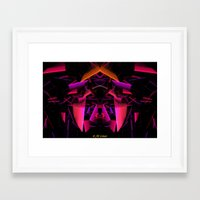 house of cards Framed Art Prints featuring House Of Cards by Jim Lowe