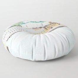 Helsinki oh Helsinki Floor Pillow