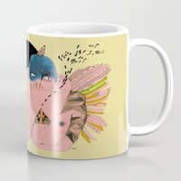 angels Mugs featuring Angels by Amandah Andersson