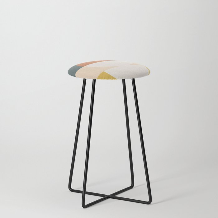 Abstract 02 Counter Stool