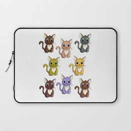 Who said meow? Laptop Sleeve