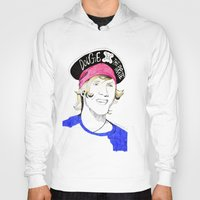 mcfly Hoodies featuring Dougie the pirate (McFly) by Mariam Tronchoni