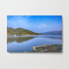 Salen Bay Loch Sunart Metal Print