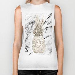 Marble Pineapple Biker Tank
